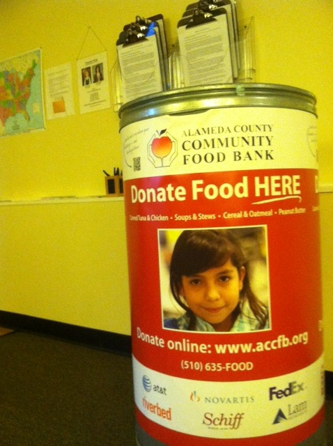 Grand Alameda Food Bank Bin